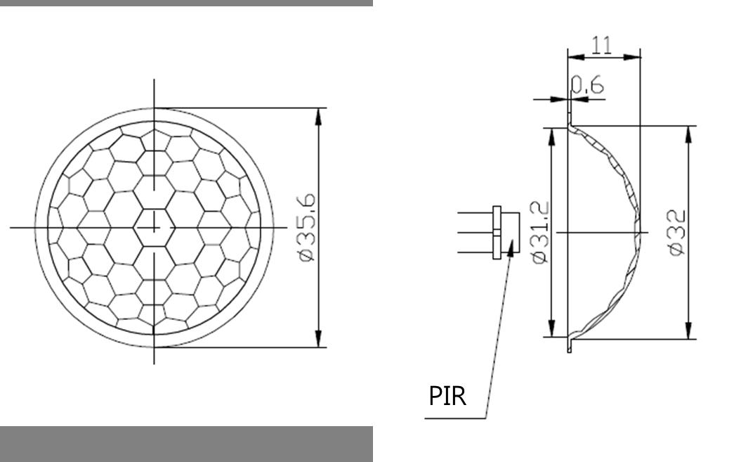 fresnel lens pd17