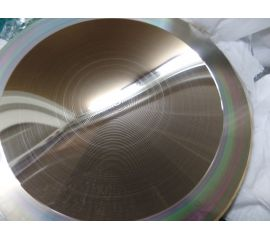 Production of master mold for CPV Fresnel Lens, image