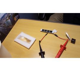Production of Fresnel lens for ELS CPV, image